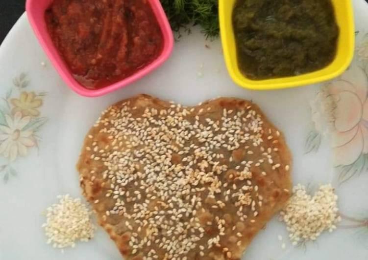 Dil leaves /soya Parantha
