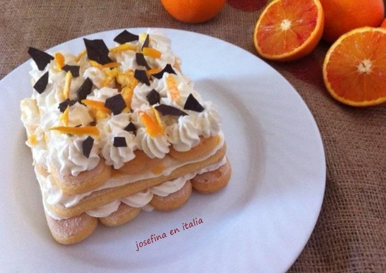 Tiramisú de naranja/Tiramisù di arance