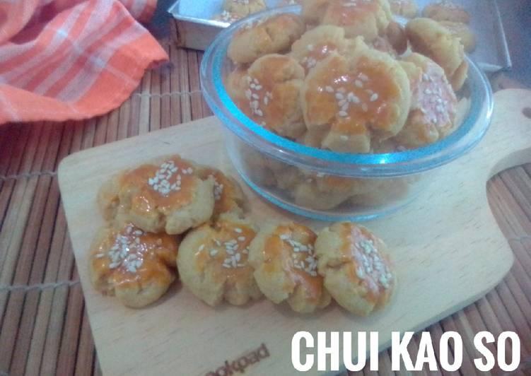 Chui Kao So Cookies (kuker rasa kacang tapi tanpa kacang)