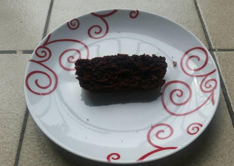 Cake au chocolat et amande