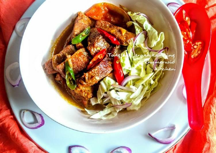 Tongseng Kambing Cabe Iris Merah Hijau - cookandrecipe.com