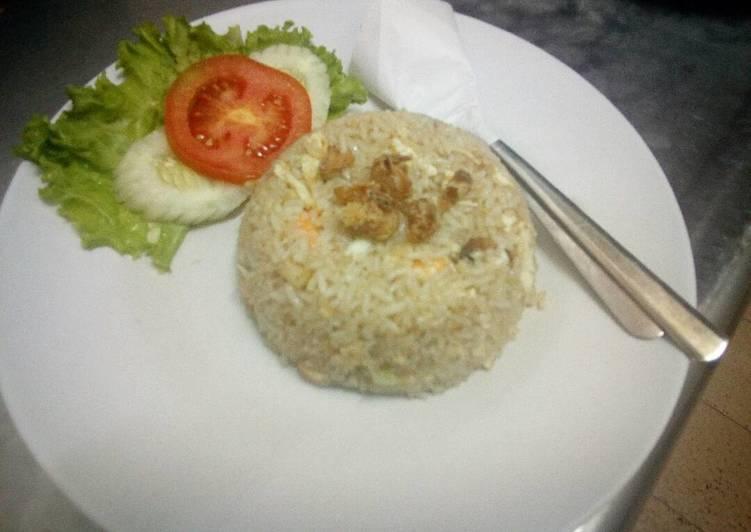 Cara Gampang Membuat Nasi Goreng seafood  Anti Gagal