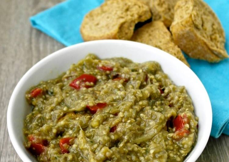 Step-by-Step Guide to Make Any-night-of-the-week Greek Eggplant Dip – Melitzanosalata