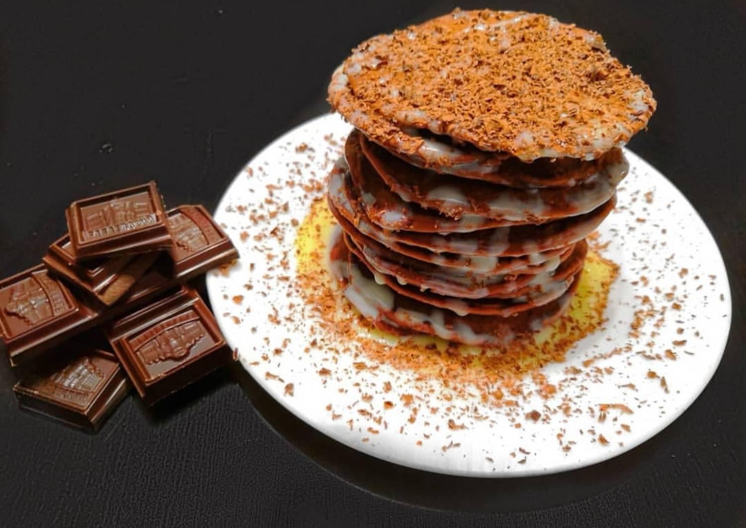 шоколадные оладушки рецепт пошагово с фото москве реальном