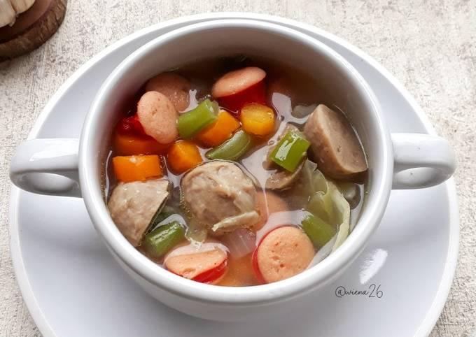 Sup Baso Sosis