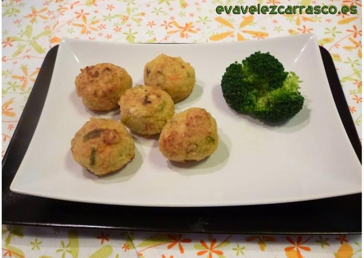 Verduras con crema mijo de