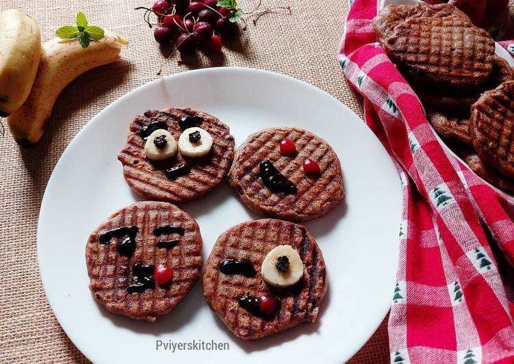 Simple Way to Prepare Favorite Indian Style Eggless Ragi Waffles-