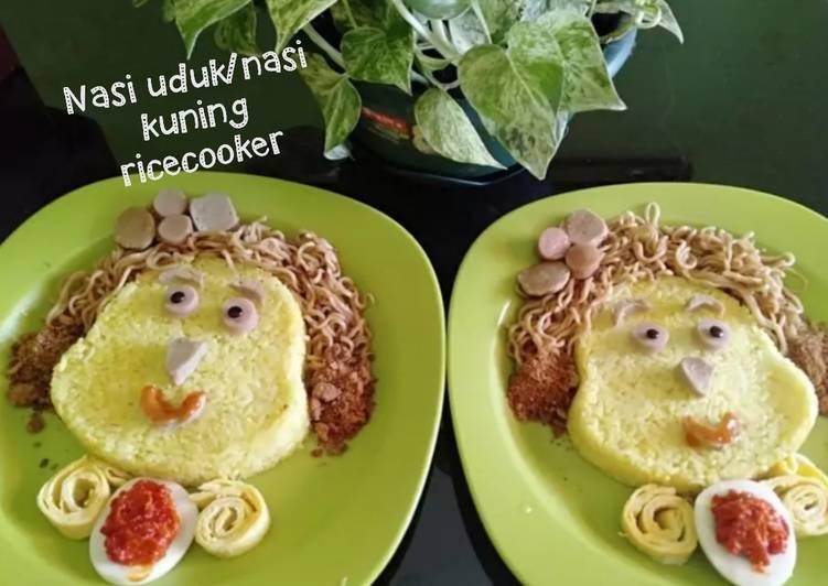 Nasi uduk/nasi kuning ricecooker - cookandrecipe.com