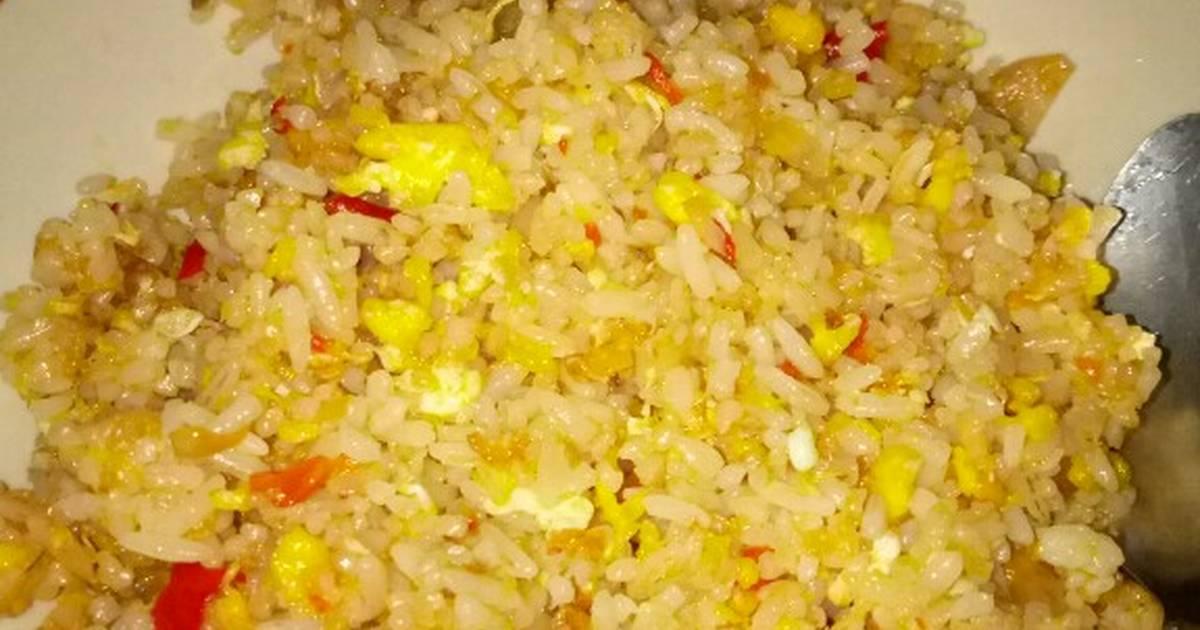 Resep Nasi Goreng Telur Simple Oleh Nurul Halizah Cookpad
