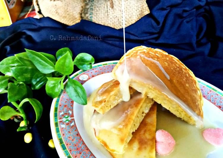 Pancake Potong Siram Susu