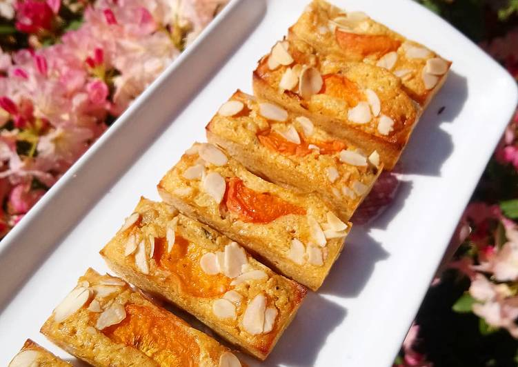 Minis cakes amande abricots