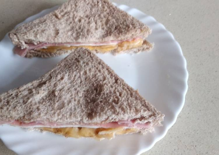 Sándwich de fruta