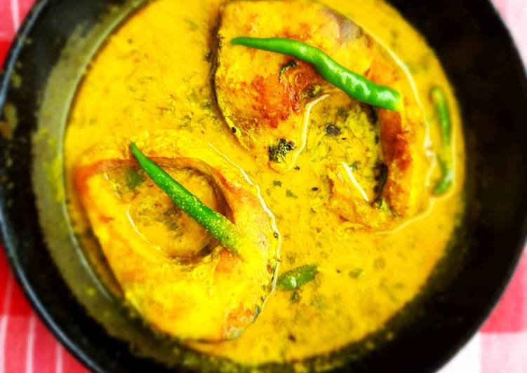 Foods That Make Your Mood Better Rohu with mustard paste gravy