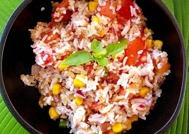 Salade pique-nique complète