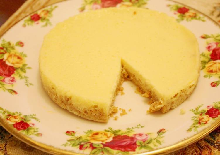 Japanese Style New York Cheesecake