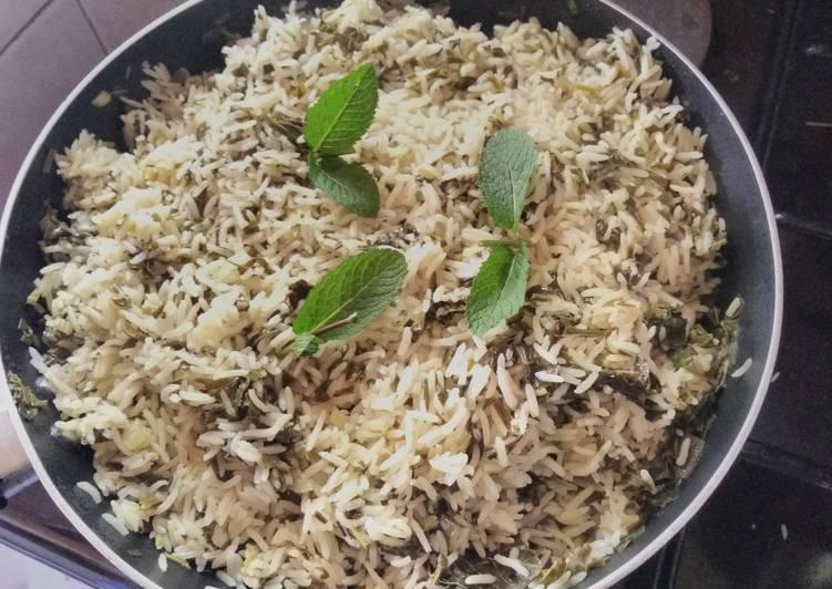 Amaranth herbs Rice#creativericerecipe