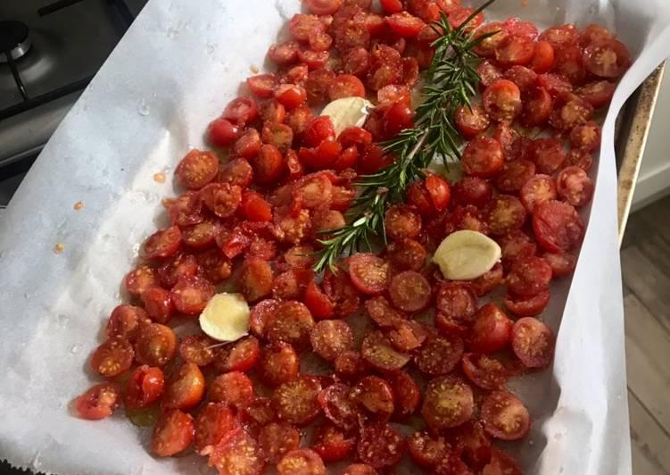 Recette: Délicieux Tomate cerise confites du jardin