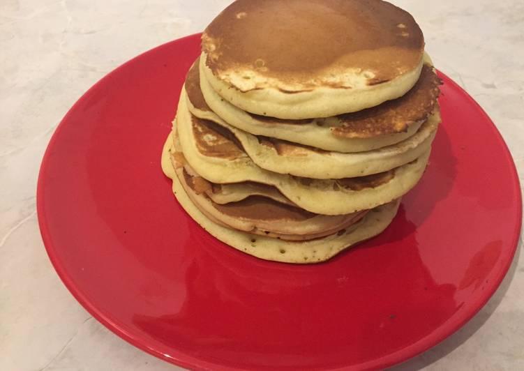 Pancake alle fragole - coccola di mamma