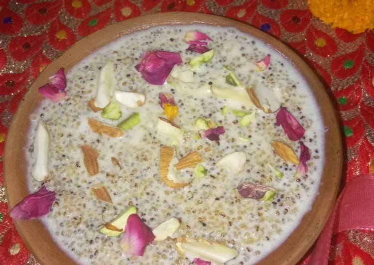 Recipe of Award-winning Rajgira kheer
