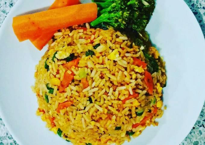 Vegetarian fried rice *Vegan