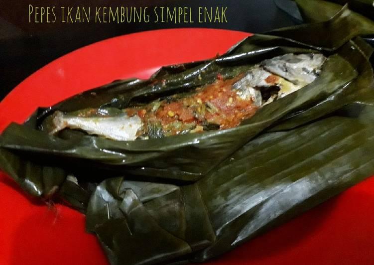 Pepes ikan kembung simpel enak
