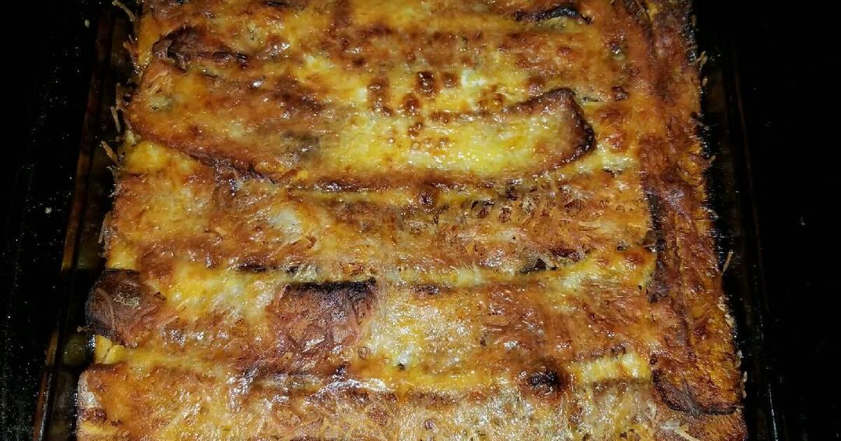Pastelon De Platano Maduro Puerto Rican Lasagna Recipe By Grumpy1020 Cookpad