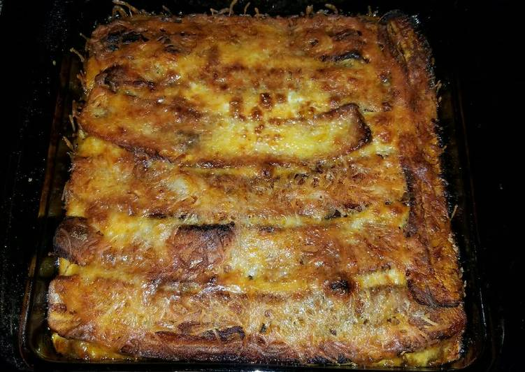Pastelón de Platano Maduro (Puerto Rican Lasagna)
