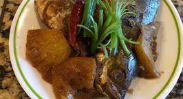 Hình ảnh món Cá nục kho dứa (thơm)