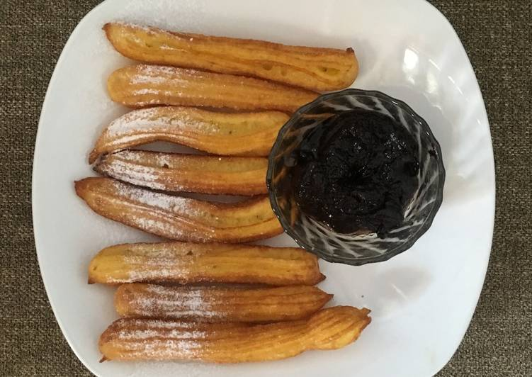 Churros - anti gagal #dirumahaja