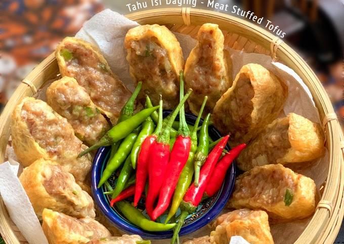 Meat Stuffed Tofus - Tahu isi daging