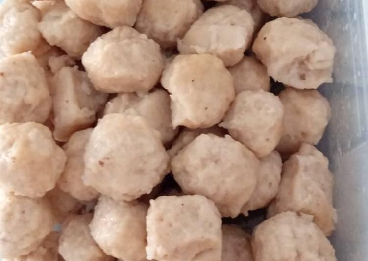 Resep Bakso ayam sangat enak gurih👍👍👌👌😋😋 Anti Gagal