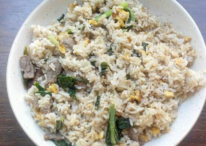Chinese Beef Fried Rice