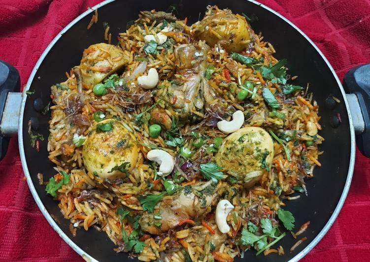 5 Minute Step-by-Step Guide to Prepare Speedy Spicy Bombay Chicken Biryani