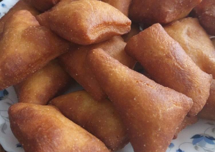 Simple Way to Prepare Homemade Wheat and maize flour mandazi