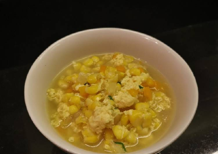 Rahasia Membuat Sup Jagung Wortel Telur untuk Bumil yang Bisa Manjain Lidah!