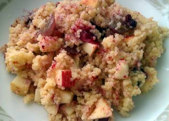 Easiest Way to Prepare Perfect Vickys Tropical Breakfast Couscous GF DF EF SF NF