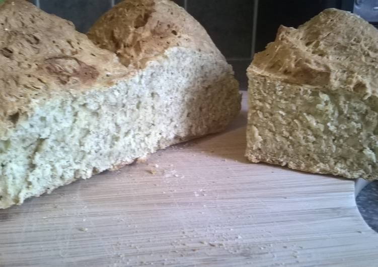 Recipe of Ultimate Wholesome White Soda Bread