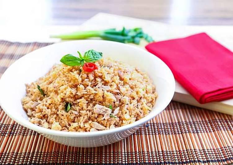 Resep Nasi Goreng Tuna Spicy