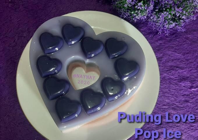 Puding Love Pop Ice