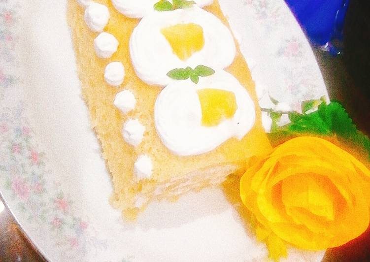 Living Greener for Better Health By Consuming Superfoods Mango Swiss roll