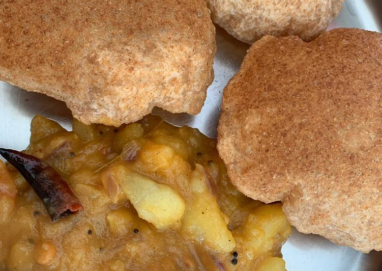 How to Make Any-night-of-the-week Poori (Indian deep fried bread)