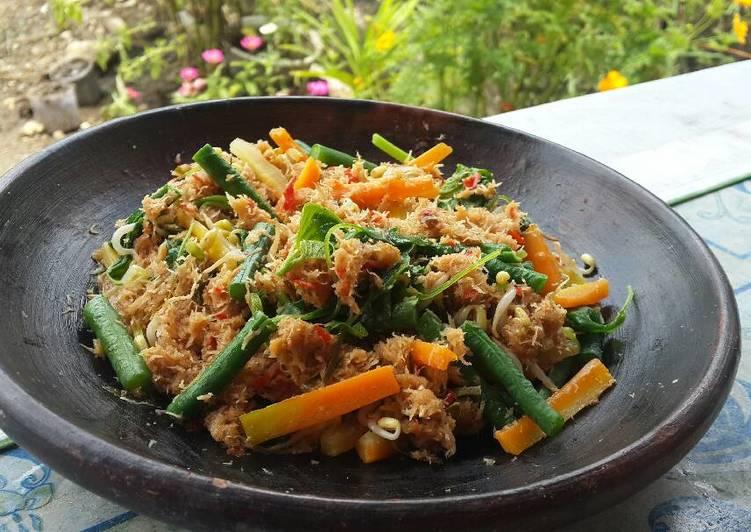 Resep Gudangan Urapan Oleh Syahara Kitchen Cookpad