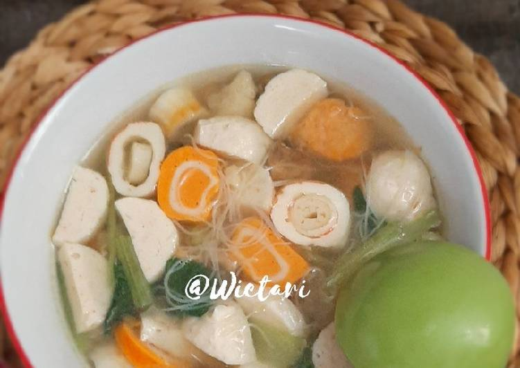 Sup baso seafood