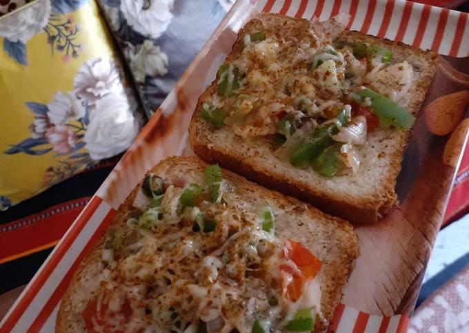 How to Prepare Tasty Easy pizza toast recipe