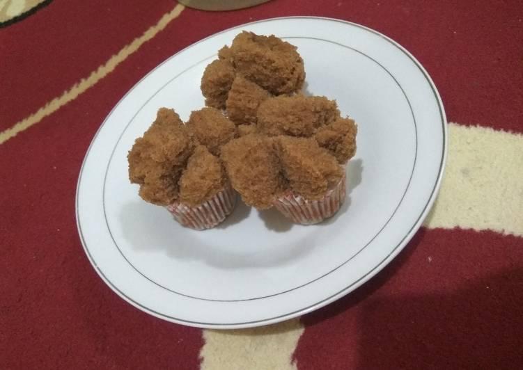 Bolu kukus simple no mixer no telur (chocolatos)