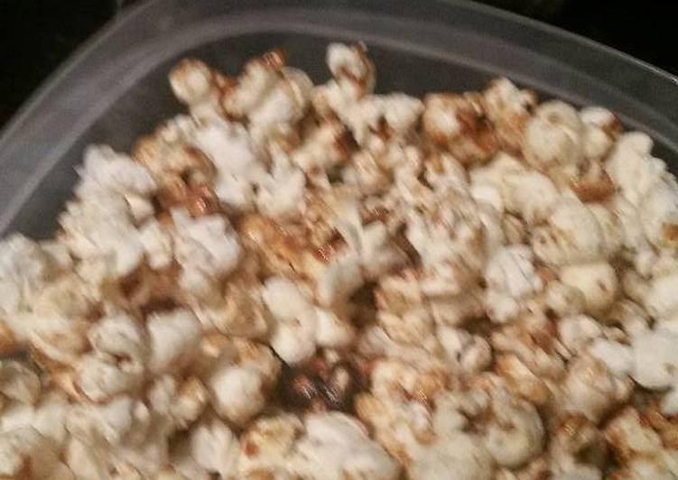 Easy To Make Caramel Corn