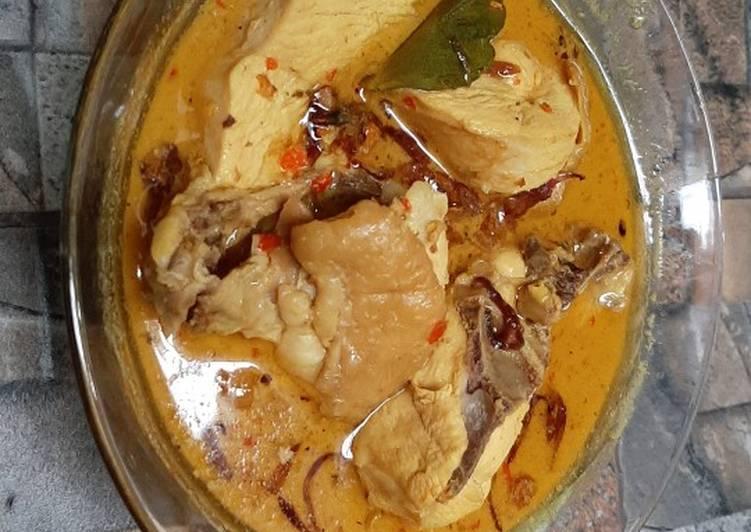 Resep Sempurna Kare Ayam Pedas