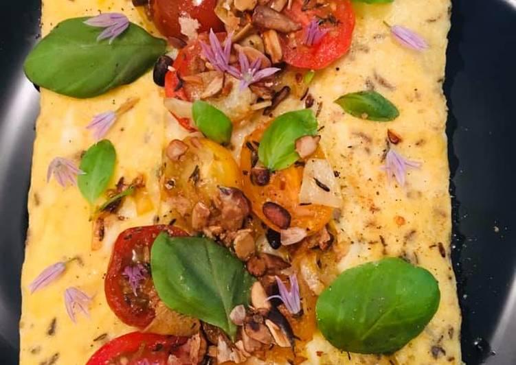Recette Des Omelette aux Saveurs d'Italie