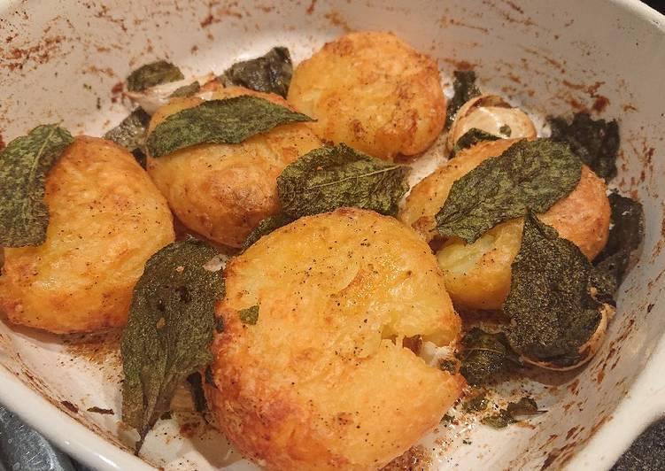Sage Roasted Potatoes