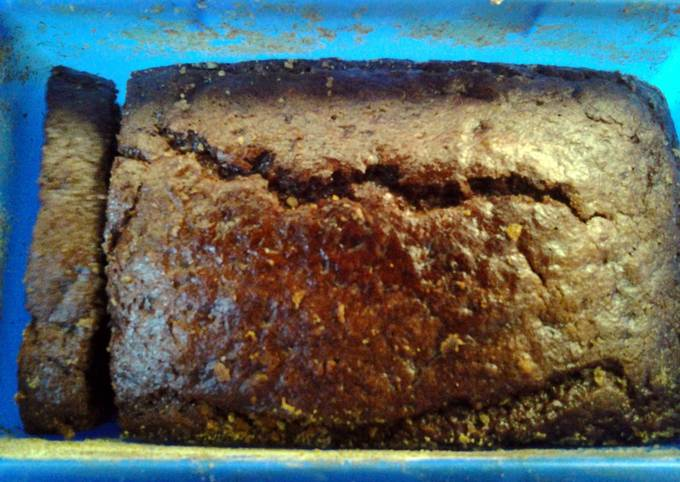 Recipe: Yummy banana nut  wheat bread easy simple steps